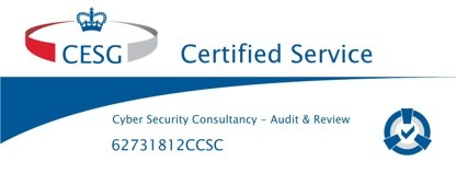 CESG Certified Service - Audit & Review